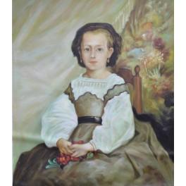Реноар Portrait Mademoiselle Romaine Lacaux