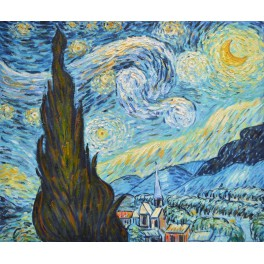 Звездна нощ, репродукция Ван Гог