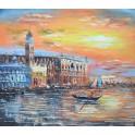 Залез над Канале Гранде, Венеция 2