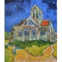 Църквата в Овер, 1896 г., Винсент Ван Гог