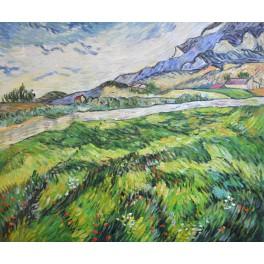 Зелено житно поле 1889 г., Винсент Ван Гог