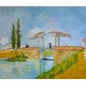 Мостът Ланглоа 1888 г., Винсент Ван Гог