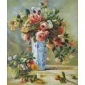 Рози и жасмин във ваза, 1880-1881 г., Пиер Огюст Реноар