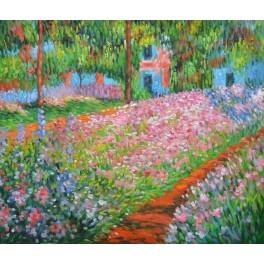 """""""Градината на Клод Моне в Живерни"""", 1900г., Моне"""