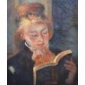 Четяща жена, 1874-1876 г., Пиер Огюст Реноар