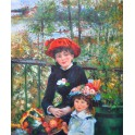 Две сестри на терасата, 1881 г., Пиер Огюст Реноар