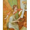 Млади момичета на пиано 1892г., Реноар, Пиер Огюст Реноар