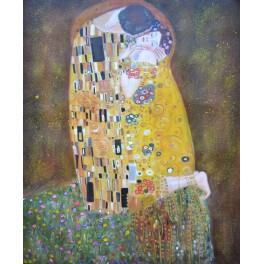 Целувката, 1907-1908 г., Густав Климт