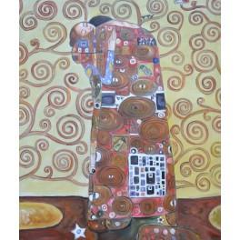 Прегръдката, 1905-1909 г., Густав Климт