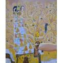 Очакването, 1905-1909 г., Густав Климт