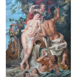 Съюзът между земята и водата, 1618 г., Петер Паул Рубенс