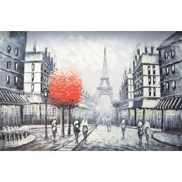 Разходка в Париж 14 91х 61