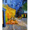 Кафе тераса през нощта, 1888 г., Винсент Ван Гог