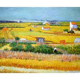 Жътва, 1888г. , Винсент Ван Гог