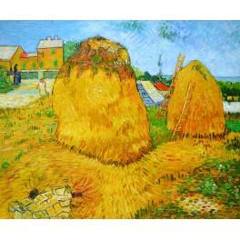 Купи сено в Прованс, 1888г. , Винсент Ван Гог