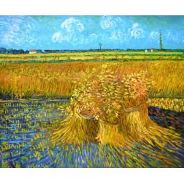Пшенично поле, 1888г. , Винсент Ван Гог