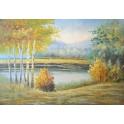 Есен в гората 91х 61