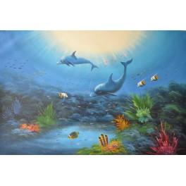 Морски свят 91х 61