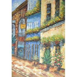 Улица с цветя 61х 91