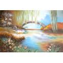 Мостът на любовта 91х 61